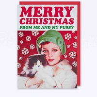Merry Christmas Card - Urban Outfitters