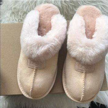 UGG AUTHENTIC COQUETTE SLIPPERS