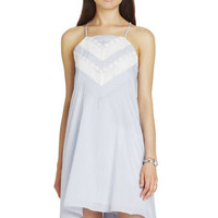 Trim Bodice Dress in Blue - BCBGeneration