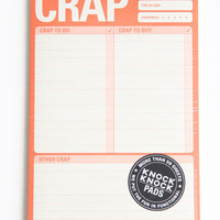 Crap To Do Paper Pad - $9.00: ThreadSence, Women's Indie & Bohemian Clothing, Dresses, & Accessories