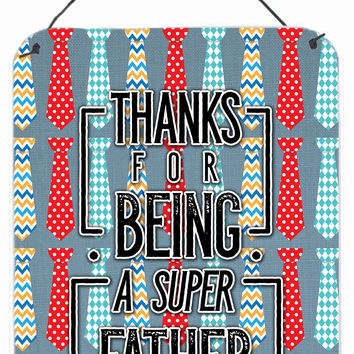 Thanks Super Father Wall or Door Hanging Prints BB5435DS1216