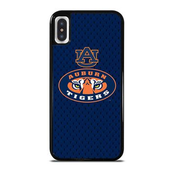 AUBURN TIGERS FOOTBALL iPhone X Case Cover