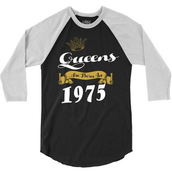 queens are born in 1975 3/4 Sleeve Shirt