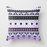 Mix #528 Throw Pillow by Ornaart