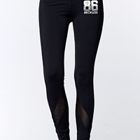 Young & Reckless 86 Reckless Leggings - Womens Pants - Black