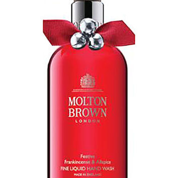 Molton Brown Festive Frankincense & Allspice Fine Liquid Hand Wash, 10 oz./ 300 mL