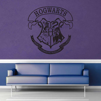 Hogwarts Crest - Harry Potter - Wall Decal - No 1$19.95