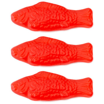 Swedish Fish Candy - Red: 5LB Bag