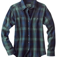 Woolrich Women's Buffalo Check Flannel Shirt