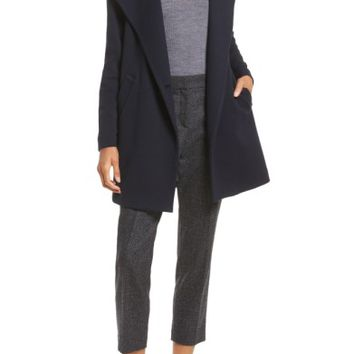 Theory Nyma Cortina Asymmetrical Coat | Nordstrom