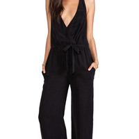 Lovers + Friends Oh Darling Playsuit in Black