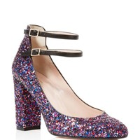 kate spade new york Baneera Glitter Mary Jane Pumps | Bloomingdales's