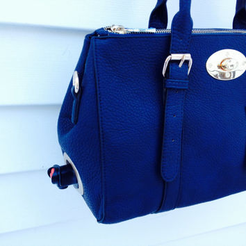 Classic Navy Wine Purse - Serves 3 or 5 Liter Bag of Wine