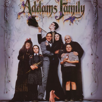 The Addams Family 11x17 Movie Poster (1991)