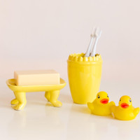 Yellow Bathroom SET! sale price! Brighten up your Bathroom!