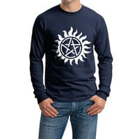 Supernatural Sun Longsleeve Men Tshirt