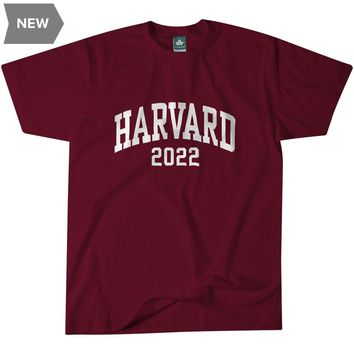 Harvard Class of 2022 T-Shirt (Crimson)