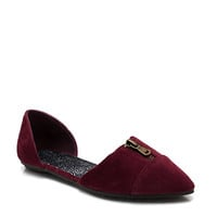 To-The-Point-Zipper-Flats BLACK BURGUNDY NAVY TAUPE - GoJane.com