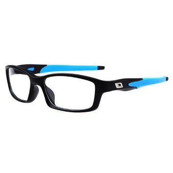 Men's Classic Silicone Eyeglasses Frames Sport Optical