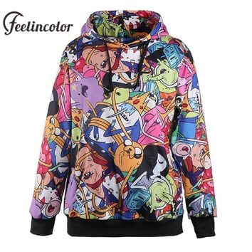 Feelincolor Adventure time Hoodies Men 3D Printed  Hoodie Sweatshirt Hip Hop Unisex Hoodied Couples Sweatshirts PulloverKawaii Pokemon go  AT_89_9