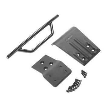 NEW RPM Front Bumper & Skid Plate Black Slash 4X4 80022Officially Licensed  AT_69_5