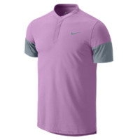 Nike Dri-FIT Touch Solid Henley Men's Tennis Shirt