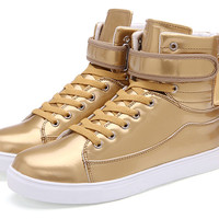 Womens Urban Edgy High-Top Casual Sneakers