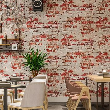 3D Modern Living Backdrop Stone Wall Paper