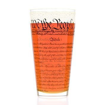 Constitution Pint Glass