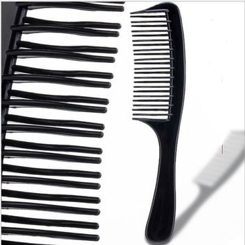 Afro Hair Pick Wide Comb for Curly Hair Plastic Comb Hair Styling Tools