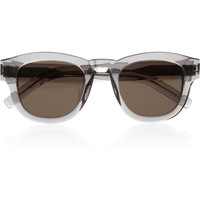 Saint Laurent | Bold 2 D-frame acetate sunglasses | NET-A-PORTER.COM
