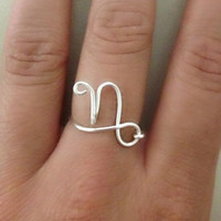 Zodiac Sign Ring-Capricorn