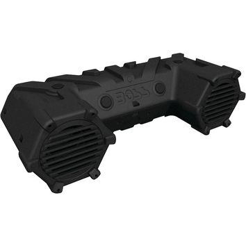 """Boss Audio All-terrain Amplified Sound System With 8"""" Speakers Dual-row Led Light Bar & Bluetooth"""