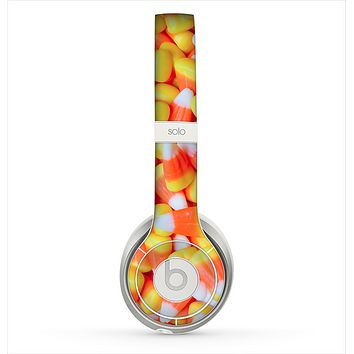 The Candy Corn Skin for the Beats by Dre Solo 2 Headphones