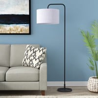 "Dale 63.75"" Arched Floor Lamp"