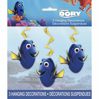Finding Dory Hanging Decorations [3 Hanging Decorations Included]