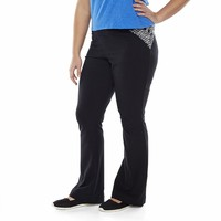 SO Piecing Skinny Bootcut Yoga Pants - Juniors'