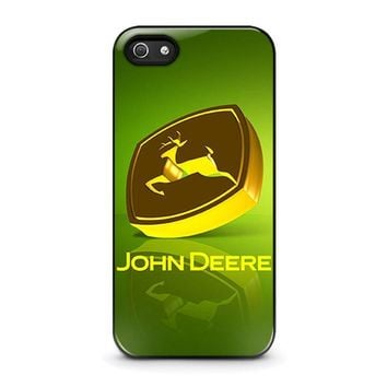 john deere iphone 5 5s se case cover  number 1