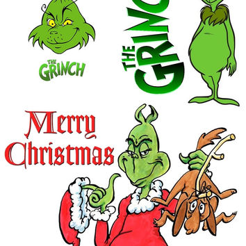 The Grinch  Iron On Transfer