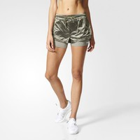adidas Run Two-in-One Shorts - Green | adidas UK