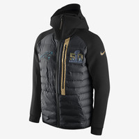 The SB50 Nike Tech Fleece Aeroloft (NFL Panthers) Men's Jacket.