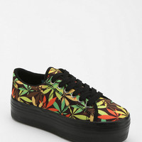 Urban Outfitters - Jeffrey Campbell ZOMG Leaves Flatform-Sneaker