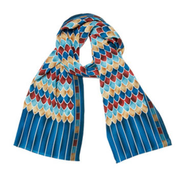 Egyptian Feather Scarf