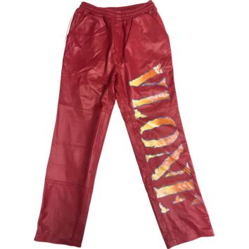 Leather Trackpants