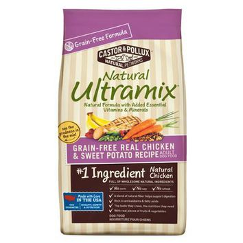 Castor and Pollux Natural Ultramix Adult Dog Food Grain Free Chicken and Sweet Potato (1x25 LB)