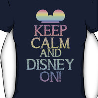 Keep calm and Disney on Women's T-Shirt