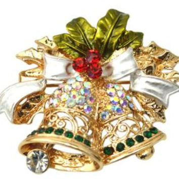 Christmas Brooches for the Holiday