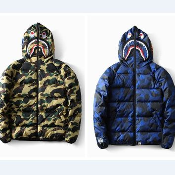 Casual Hats Winter Camouflage Thicken Cotton Men Jacket [1573979553885]