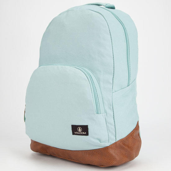 a8610eb649fe Volcom Supply   Demand Backpack Mint One Size For Women 25713352301