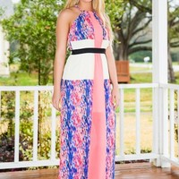 Worth The Wait Maxi Dress-Neon Coral - NEW ARRIVALS